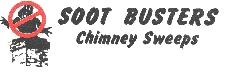 Soot Busters Chimney Sweeps Logo